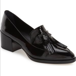 Rebecca Minkoff Edie Black Patent Leather Loafers